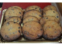 Cookies con trocicos de chocolate