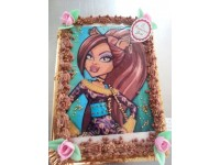 Tarta de Monster High