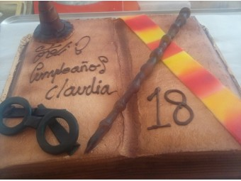 Tarta de Harry Potters